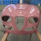 Basislackierung rosa vorne